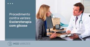 escleroterapia com glicose